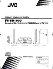 Jvc SP-PW100 Manuals