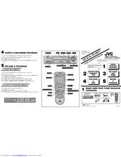 Jvc HR-DD750U Manuals