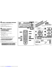 Jvc HR-A47U Manuals