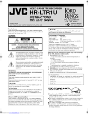 Jvc HR-A57U Manuals