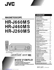 Jvc MAGNETOSCOPE HR-J460MS Manuals