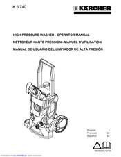 Karcher K 3.740 Manuals