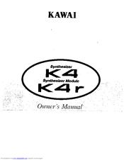 Kawai Synthesizer K4 Manuals