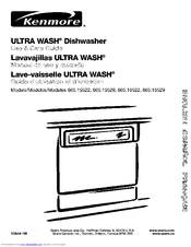 Kenmore 665.15529 Manuals