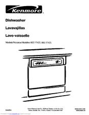 Kenmore 665.17425 Manuals