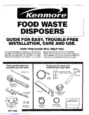 Kenmore 175.6058 Manuals