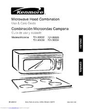Kenmore 721.80032 Manuals