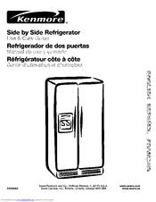 Kenmore Top-mount refrigerator 106 Manuals