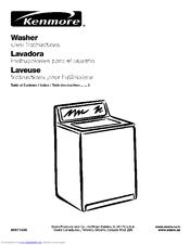 Kenmore 110. Series Manuals