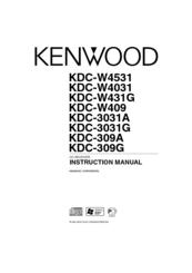 Kenwood KDC-W4031 Manuals