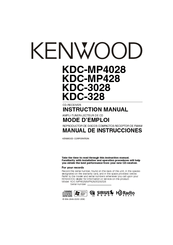 Kenwood KDC-MP4028 Manuals