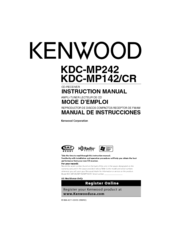 kenwood kdc mp142 wiring diagram 2 oil refining process manuals instruction manual