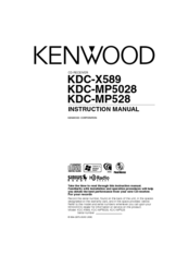 Kenwood KDC-MP5028 Manuals