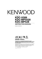 Kenwood KDC-MP5028 Manuals