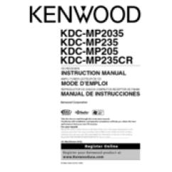 Kenwood Kdc Wiring Diagram Domestic Switchboard Australia Mp235 All Data Radio Cd Manuals Manual