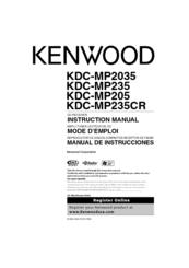 kenwood kdc wiring diagram 2000 ford explorer engine mp235 all data radio cd manuals manual