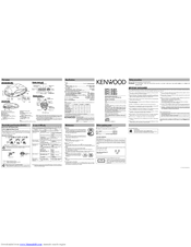 Kenwood DPC-X602 Manuals