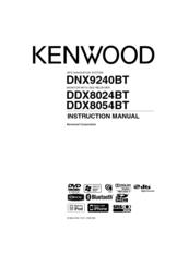 Kenwood DNX9240BT Manuals