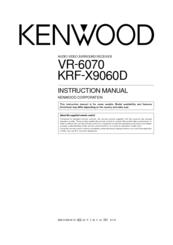 Kenwood VR-6070 Manuals