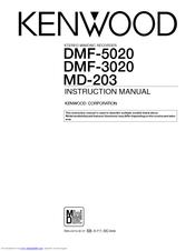 Kenwood DMF-3020 Manuals