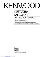 Kenwood DMF-9020 Manuals
