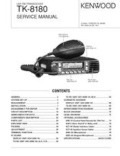 Kenwood TK-8180 Manuals