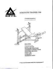 Keys Fitness ST-2300L Manuals