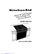 Kitchenaid KEDT105V Manuals