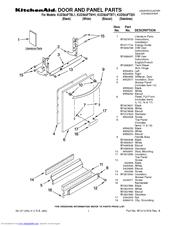 Kitchenaid KUDS03FTSS1 Manuals