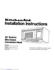 Kitchenaid KHMC106W Manuals