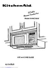Kitchenaid KHMC106W Manuals