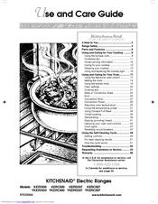 Kitchenaid YKERC507 Manuals