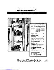 Kitchenaid KSRS22Q Manuals
