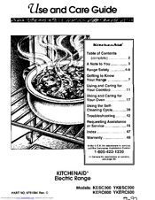 Kitchenaid KESC300 Manuals