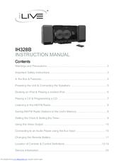 Ilive IH328B Manuals