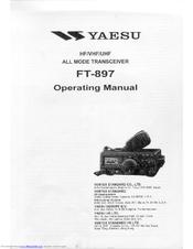 Yaesu FT-897 Manuals