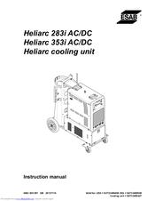 Esab Heliarc 353i AC/DC Manuals