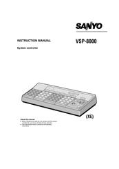 Sanyo VSP-8000 Manuals