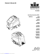 Windsor Chariot 3 iScrub 26 10061610 Manuals