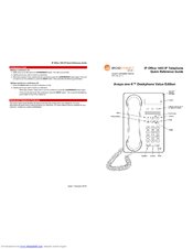 Avaya 1403 Manuals