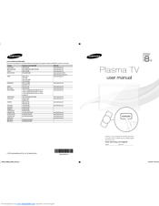 Samsung 8+ series Manuals