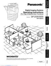 Panasonic Workio DP-3030 Manuals