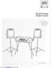 Peavey Escort 6000 Manuals