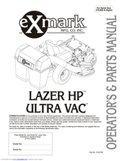 Exmark LAZER Z HP Manuals