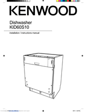Kenwood KID60S10 Manuals