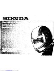 Honda NTV650 Revere Manuals