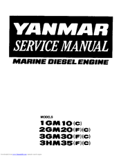 Yanmar 2GM20F Manuals