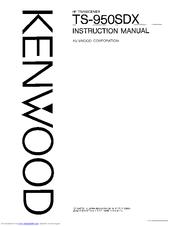 Kenwood TS-950SDX Manuals