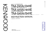 Kenwood TM-541A Manuals