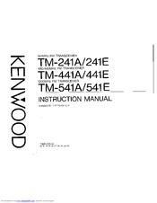 Kenwood TM-241A Manuals